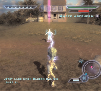 Actionspiel Destroy All Humans! © THQ