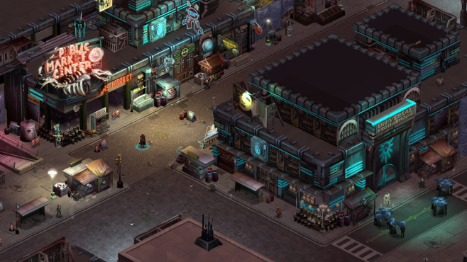 Rollenspiel Shadowrun Returns © Harebrained Schemes LLC