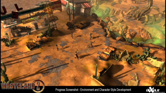 Rollenspiel Wasteland 2 © Inxile Entertainment