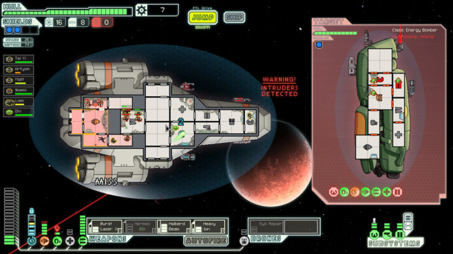 Simulation FTL – Faster Than Light © Subset Games
