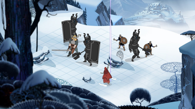 Strategiespiel The Banner Saga © Stoic