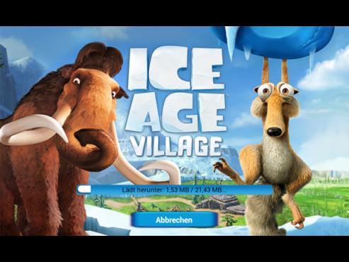 Ice Age – Die Siedlung ©Gameloft