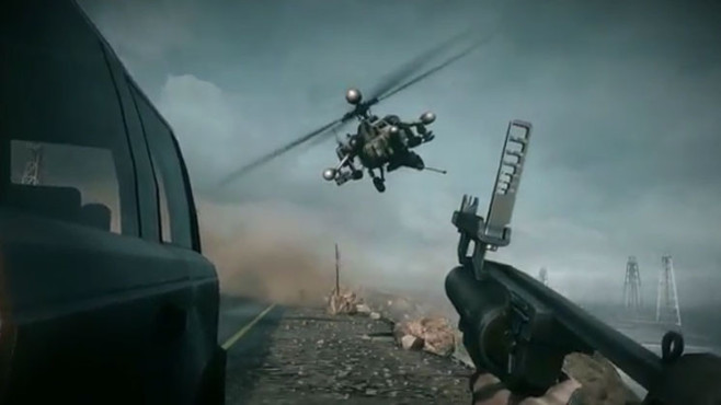 Actionspiel Battlefield 4: Helikopter