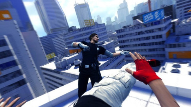 Actionspiel Mirror's Edge: Tritt © EA