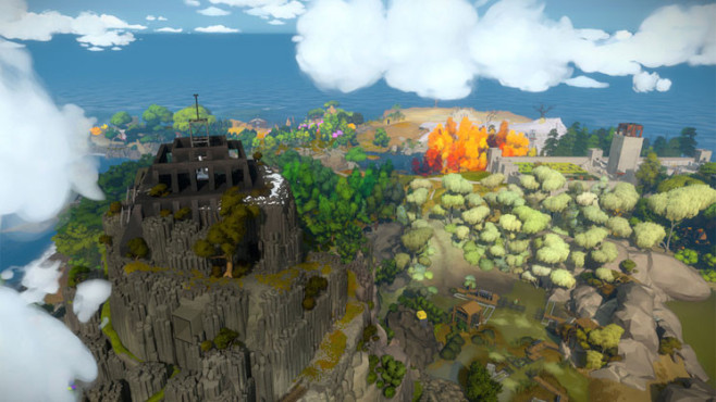 R�tselspiel The Witness: Welt © Jonathan Blow