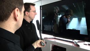 Sony 4K-Fernseher auf der Roadshow 2013 ©COMPUTER BILD