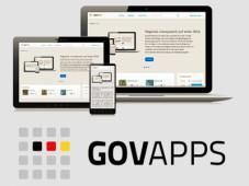 Logo des Portals GovApps ©Die Beauftragte der Bundesregierung f�r Informationstechnik
