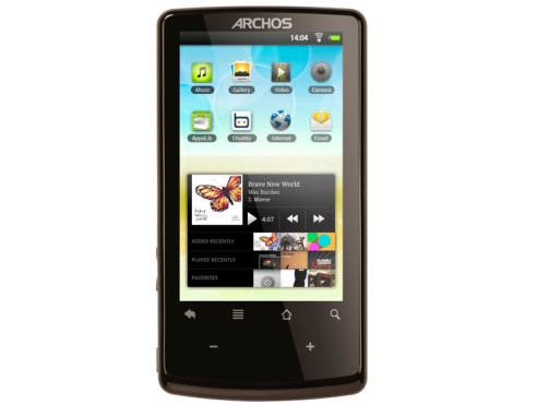 Archos 3.2 Multimedia-Player © Archos, Amazon