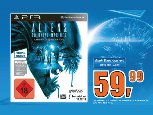 Aliens: Colonial Marines © Saturn
