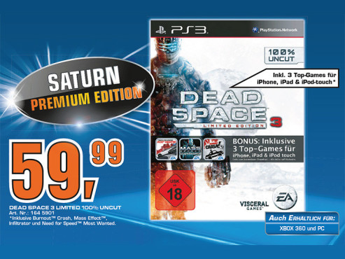 Dead Space 3 © Saturn