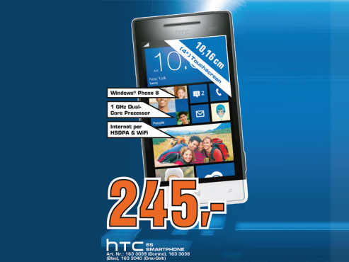 HTC Windows Phone 8S © Saturn