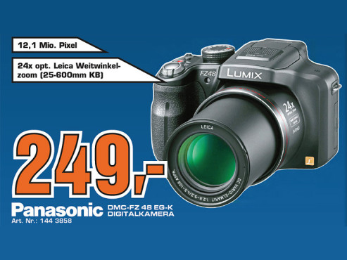 Panasonic Lumix DMC-FZ48 © Saturn