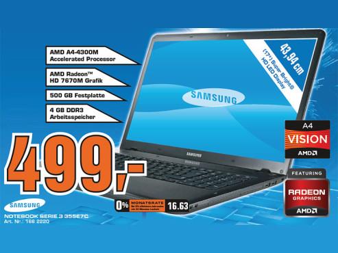 Samsung 355E7C (NP355E7C-S08) ©Saturn