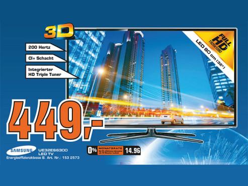 Samsung UE32ES6300 ©Saturn