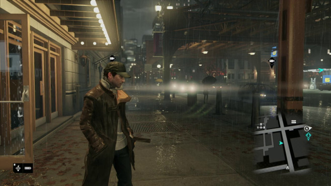 Actionspiel Watch Dogs: PS4-Screenshot © Ubisoft