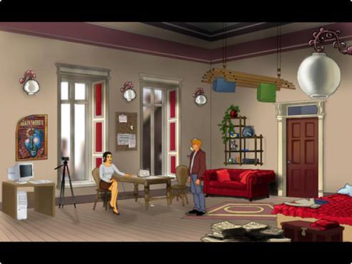 Abenteuerspiel Baphomets Fluch 2.5 ©Mindfactory