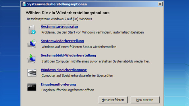 Windows: Rettungs-CD erstellen © COMPUTER BILD