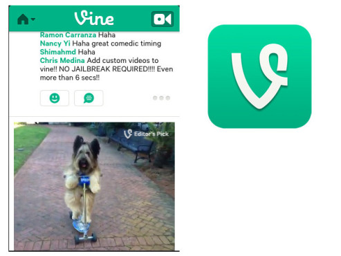 Vine – Make a Scene © Vine Labs