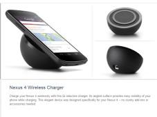 Kabelloses Ladegerät für Nexus 4 ©Google