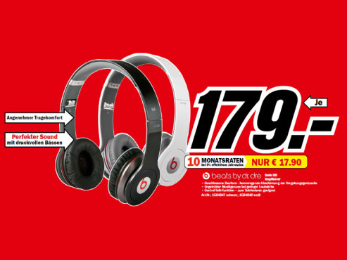 Monster Beats Solo HD by Dr. Dre with Control Talk © Media Markt