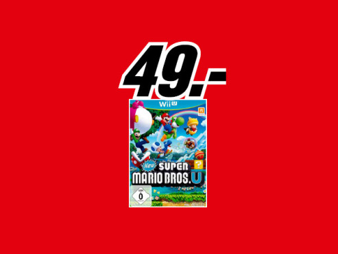New Super Mario Bros. U (Wii U) © Media Markt