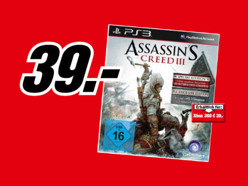 Assassin's Creed 3: Special Edition (PS3) © Media Markt