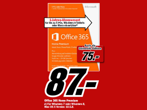 Microsoft Office 2013 © Media Markt