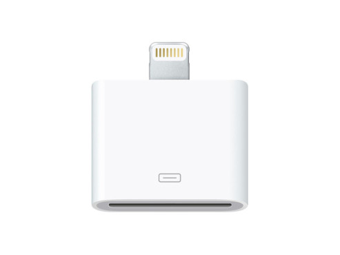 Lightning Connector Adapter © Apple