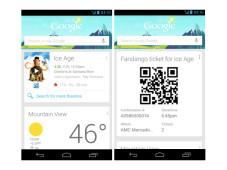 Google Now jetzt auch als Widget ©Google