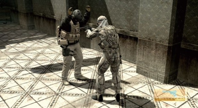 Actionspiel Metal Gear Solid 4: Snake © Konami