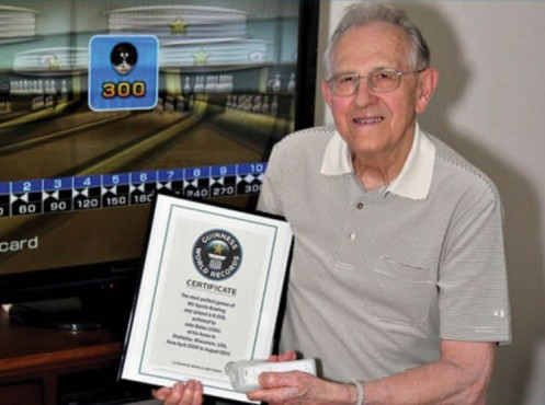 Rekordhalter: John Bates © Guiness World Records