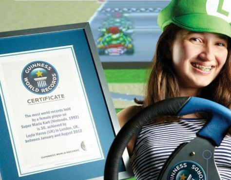 Spielerin Leyla Hasso ©Guiness World Records