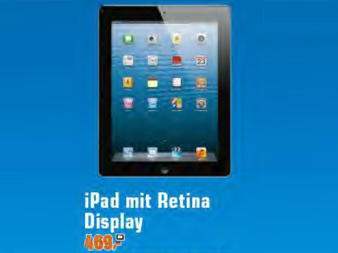 Apple iPad 4 © Saturn