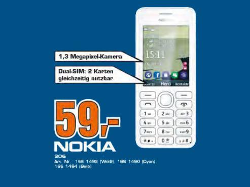Nokia Asha 206 Dual SIM ©Saturn