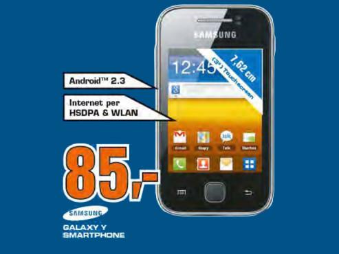 Samsung Galaxy Y (S5360) ©Saturn