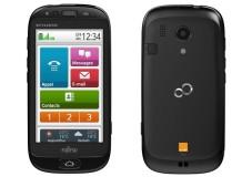 Fujitsu Stylistic S01: Android-Smartphone für Senioren Für Senioren: Fujitsu hat das Betriebssystem des Stylistic S01 für ältere Nutzer optimiert. ©Fujitsu