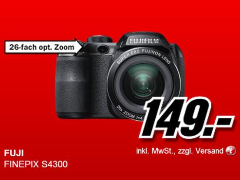 Fujifilm FinePix S4300 ©Media Markt