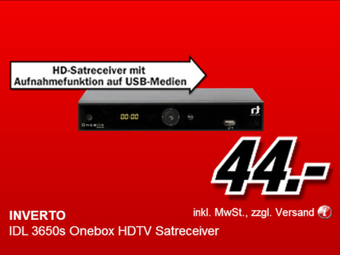 Inverto IDL 3650s OneBox © Media Markt