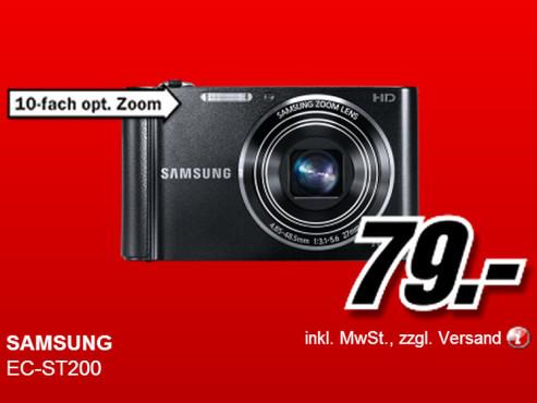 Samsung ST200 ©Media Markt
