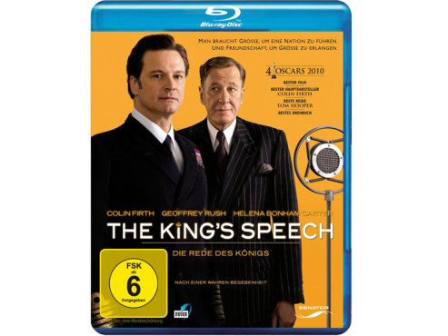 """The King's Speech"" auf Blu-ray für 9,97 Euro © Amazon"
