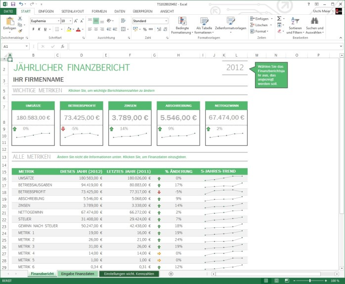 Excel-Vorlagen - Download - COMPUTER BILD