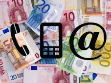 Verivox: Deutsche zahlen fast 50 Euro f�r DSL, Festnetz und Mobilfunk! Ideal f�r Vielsurfer: Ein Datentarif mit hohem Datenvolumen macht mobil und unabh�ngig. ©leroy131 - Fotolia.com, redkoala - Fotolia.com