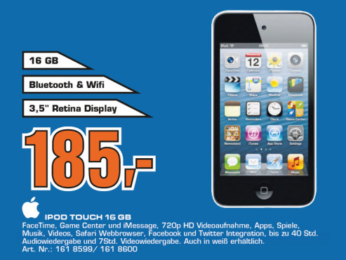 Apple iPod touch 4G 16GB © Saturn