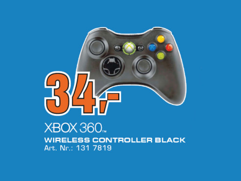 Microsoft Xbox 360 Wireless Controller © Saturn