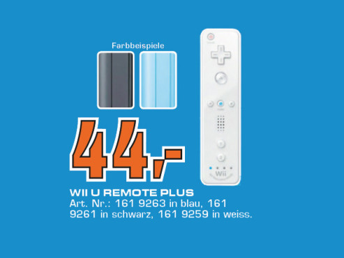 Nintendo Wii U Remote Plus © Saturn