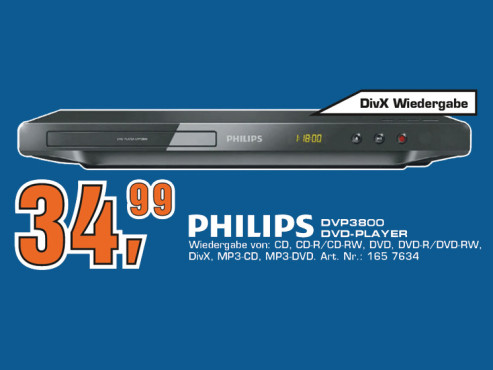 Philips DVP3800 © Saturn