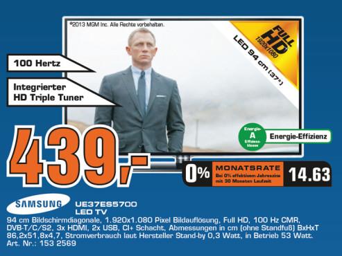 Samsung UE37ES5700 ©Saturn
