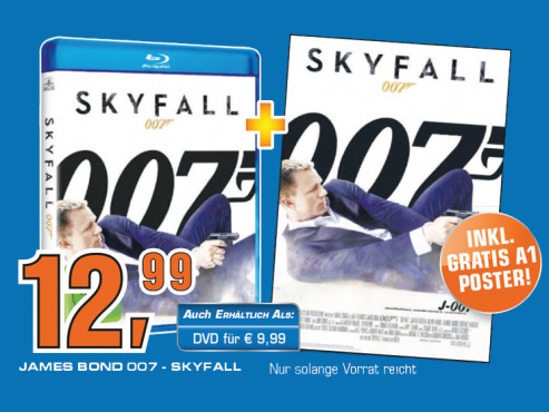 Skyfall (DVD oder Blu-ray) ©Saturn