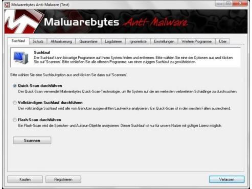 Malwarebytes Anti-Malware ©COMPUTER BILD