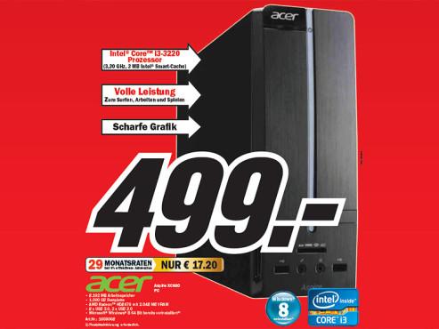 Acer Aspire XC600 ©Media Markt